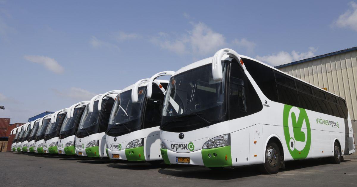 אפיקים תתקין באוטובוסים מערכת אוטומטית לספירת נוסעים